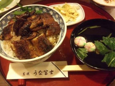 肝付きうな丼(なんと3800円)