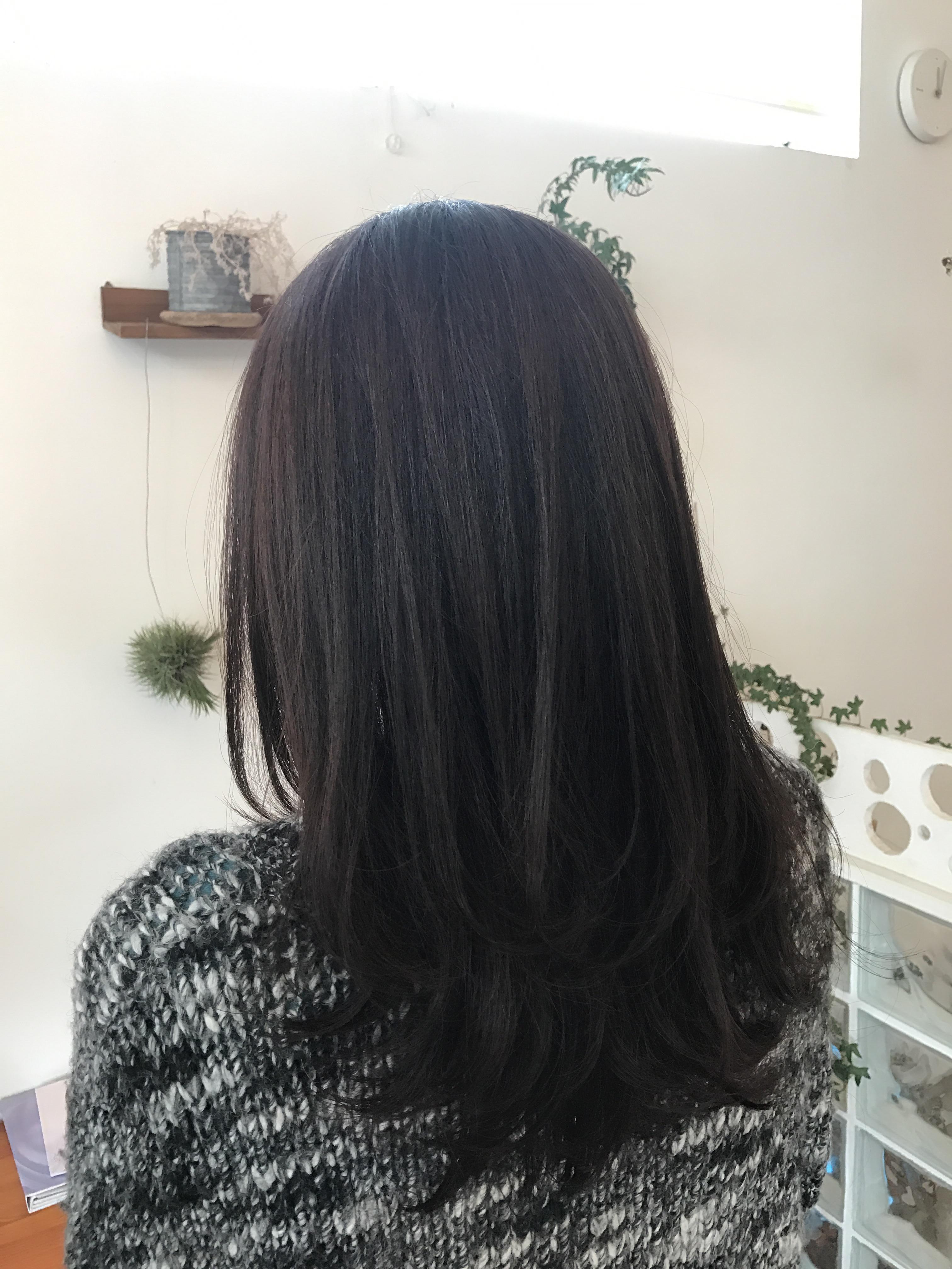 大人の上質な白髪染め